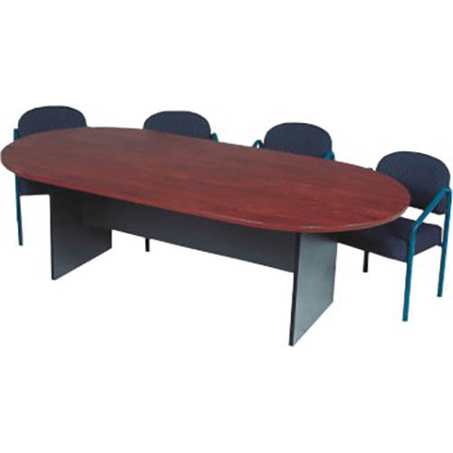 Newport Oval Shaped Boardroom Table
