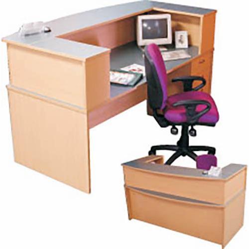 Newport Bowfront Reception Desk