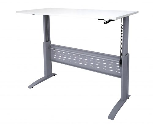 SE-127 SW - Span Electric Straight Desk(Raised to Full Height)