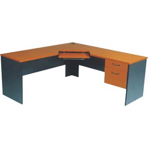Newport Corner Workstation With Adjustable Keyboard