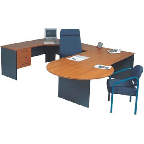Newport Conference Desk And Corner Setting Clicks Office